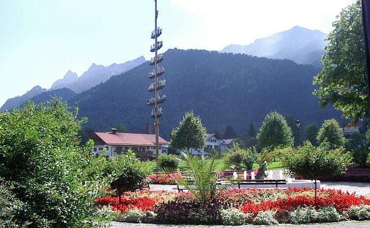 Kurpark mit Gemeinde